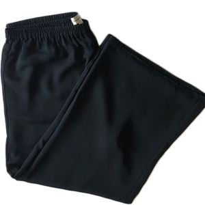 Women's Wide Leg Trouser Black XL Pants